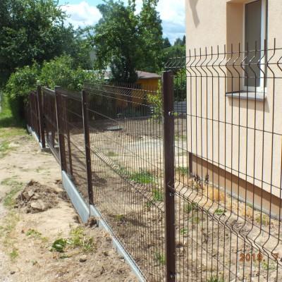 Segmentinė tvora,pamatas