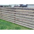 medinės tvoros atnaujinimas