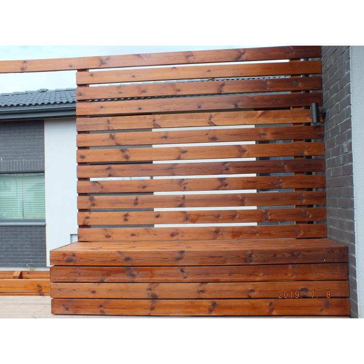 Lauko terasos sienelė